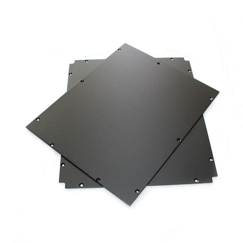 Custom Large-size Aluminium Profile high-powered assembled Heatsinks