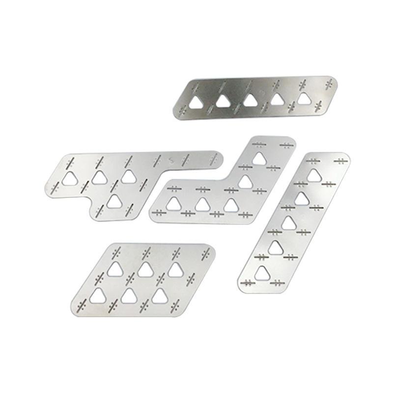 Custom Precision Various Sheet Metal Stamping, like Stamping plates, stamping Spring / Federn, Stamping pins, laser cutting plates, etc